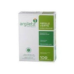 ARGILETZ Argile verte Boite de 300 grammes de poudre