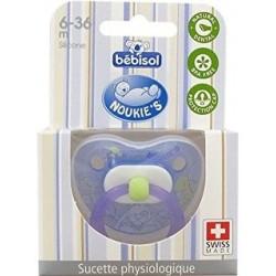 BEBISOL Noukie's Sucette physiologique en silicone 6-36 mois