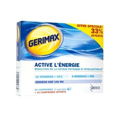 gerimax bte 30 cprs +33% gratuit