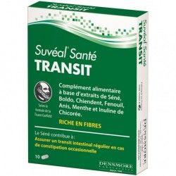 SUVEAL Santé Transit Complément alimentaire Boite de 10 gélules