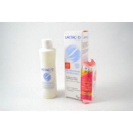 LACTACYD 1 lingettes offertes avec le Soin intime lavant hydratant Flacon de 250 ml