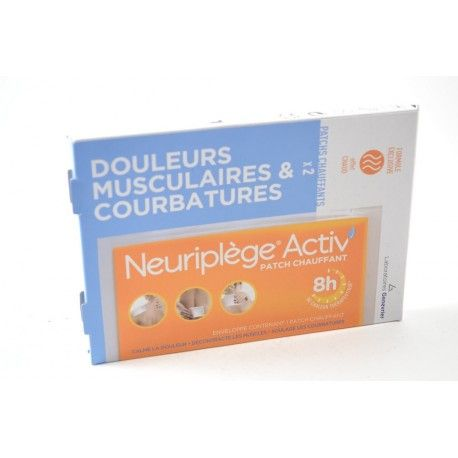NEURIPLEGE Activ' patchs chauffant Boite de 2