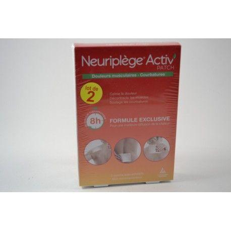 NEURIPLEGE Activ' patchs chauffant Lot de 2 Boites de 2