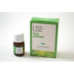 LEHNING L.52 Etats grippaux Solution buvable Flacon de 30ml