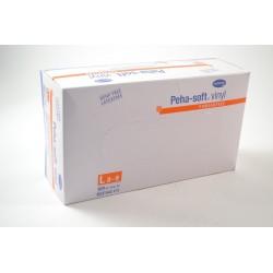 PEHA-SOFT Vinyle Boite de 100 gants Taille L (8-9)