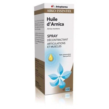 ARKO ESSENTIEL Huile d'Arnica Spray de 100 ml