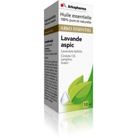ARKO ESSENTIEL Lavande Aspic Flacon de 5 ml