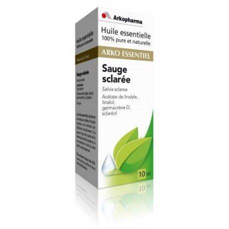 ARKO ESSENTIEL Sage Sclarée Flacon de 10 ml
