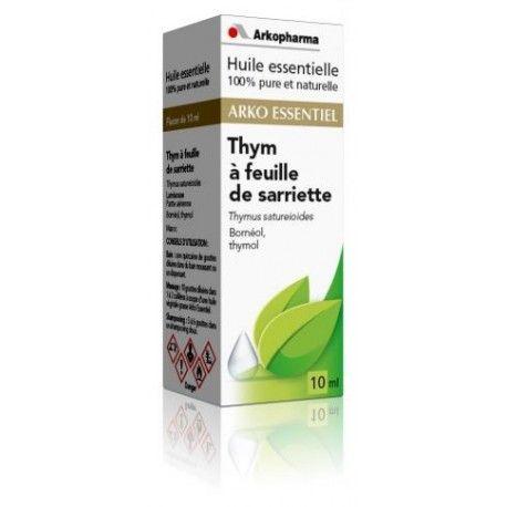 ARKO ESSENTIEL Thym à feuille de Sariette Flacon de 10 ml