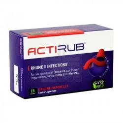 ACTIRUB Rhume et infections Boite de 15 sachets