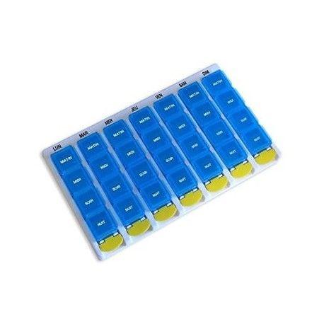 Pilulier hebdomadaire 4 cases par jour