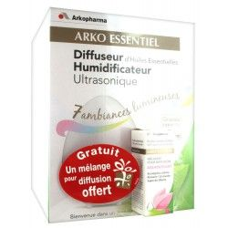 ARKO ESSENTIEL Diffuseur humidificateur ultrasonique + 1 mélange offert