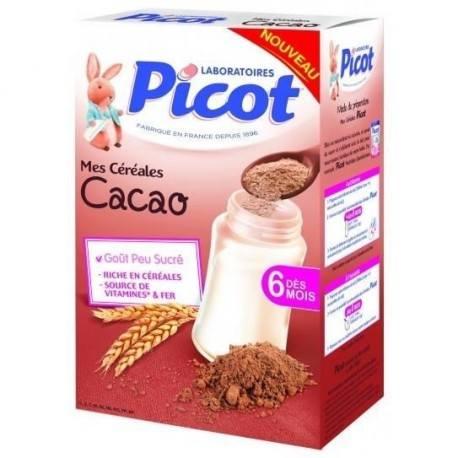 PICOT Flocons gourmand goût Cacaoté dès 10 mois