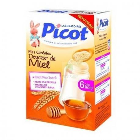 PICOT Far inst douceur miel dès 6 mois B/400g