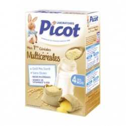 PICOT Flocons gourmands multicéréales dès 4 mois Boite de 200 g