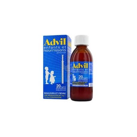 ADVIL 20mg/ml Suspention buvable Flacon de 200ml