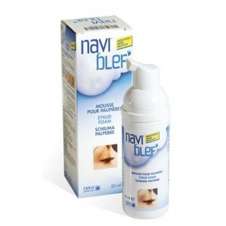 NAVI BLEF' Mousse pour paupières Flacon de 50 ml