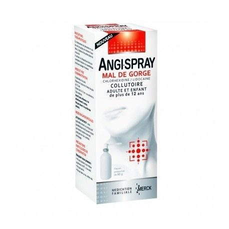 ANGI-SPRAY mal de gorge Collutoire Flacon de 40ml