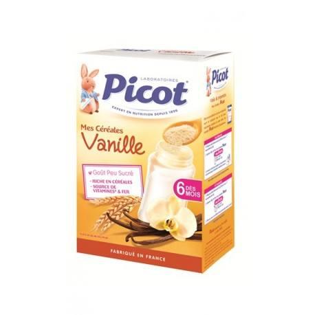 PICOT Céréales Vanille dès 6 mois Boite de 400 grammes