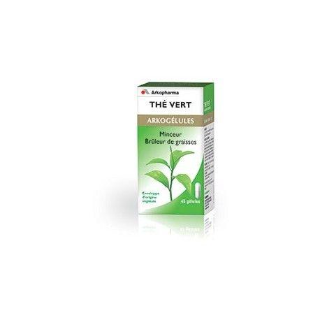 ARKOGELULES Camiline thé vert Flacon de 45 gélules