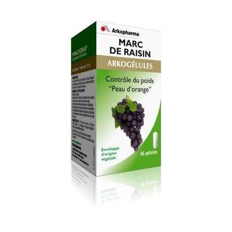 ARKOPHARMA Marc de raisin Flacon de 45 gélules