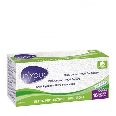 UNYQUE Boite de 16 tampons SUPER sans applicateur