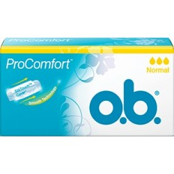 OB PRO COMFORT Tampons sans applicateur Boite de 16