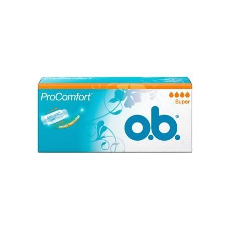 OB PRO COMFORT Tampons SUPER Boite de 32