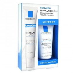LA ROCHE POSAY Coffret anti imperfections duo + effaclar gel moussant offert