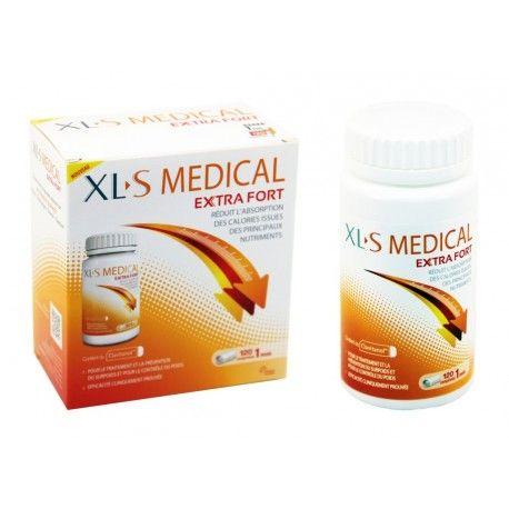 XLS Medical Extra Fort Boite de 120 comprimés