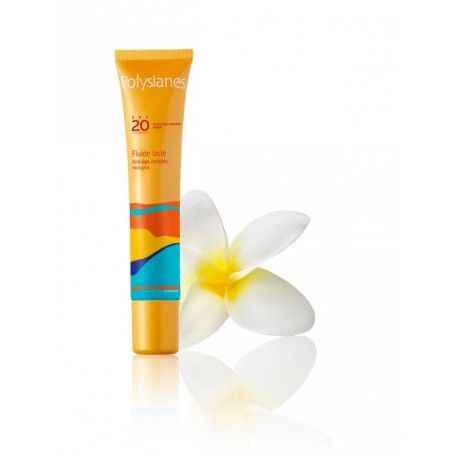 POLYSIANES Fluide lactée SPF 20 Tube de 40 ml