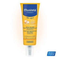 MUSTELA SOLAIRE SPF50+ Spray t h prot 200ml