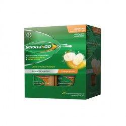BEROCCA N GO Boite de 28 comprimés orodispersible Goût Orange givrée