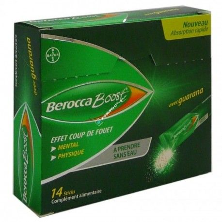 BEROCCA BOOST Boite de 14 sticks