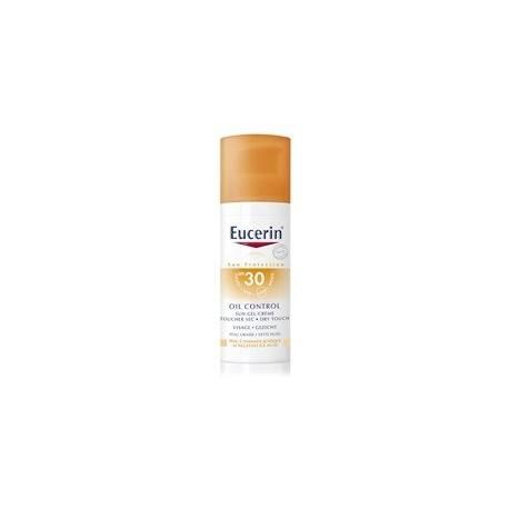 EUCERIN SUN TOUCHER SEC 30 Gel crème visage Tube de 50ml