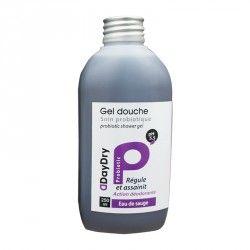 DAYDRY Gel douche Soin probiotique eau de sauge Flacon de 250 ml