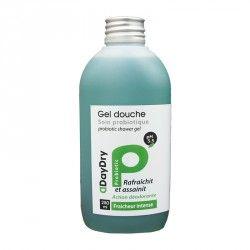 DAYDRY Gel douche Soin probiotique Fraicheur intense Flacon de 250 ml