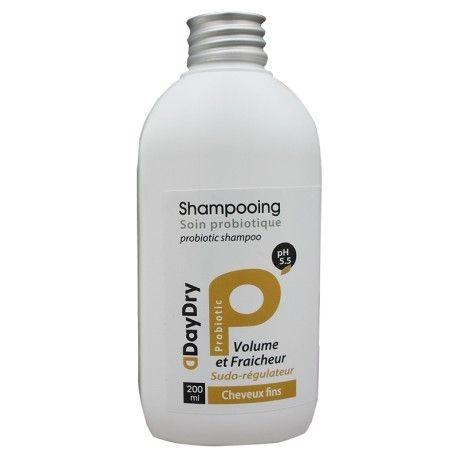 DAYDRY Shampooing Soin probiotique Volume et fraicheur Cheveux fins Flacon de 200 ml
