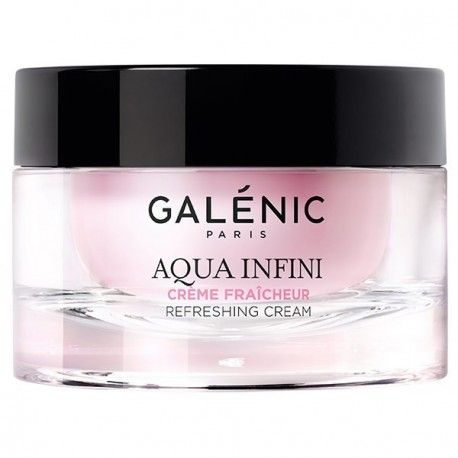 GALENIC AQUA INFINI Crème fraicheur peaux normales à sèchesPot de 50 ml