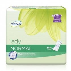 TENA LADY NORMAL Serviette hygiénique Sachet de 24