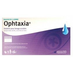OPHTAXIA Solution tamponnée lavage oculaire 10 Unidoses de 5 ml