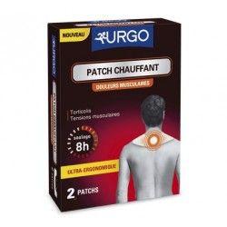 URGO Patchs chauffants nuque peau Boite de 2