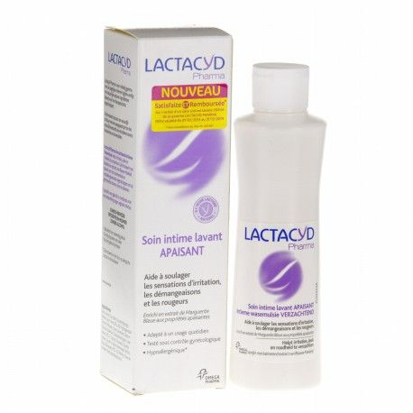 LACTACYD PHARMA Emul soin int apais 250ml