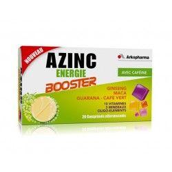 AZINC ENERGIE TAURINE + VIT C Boite de 30 comprimés a croquer