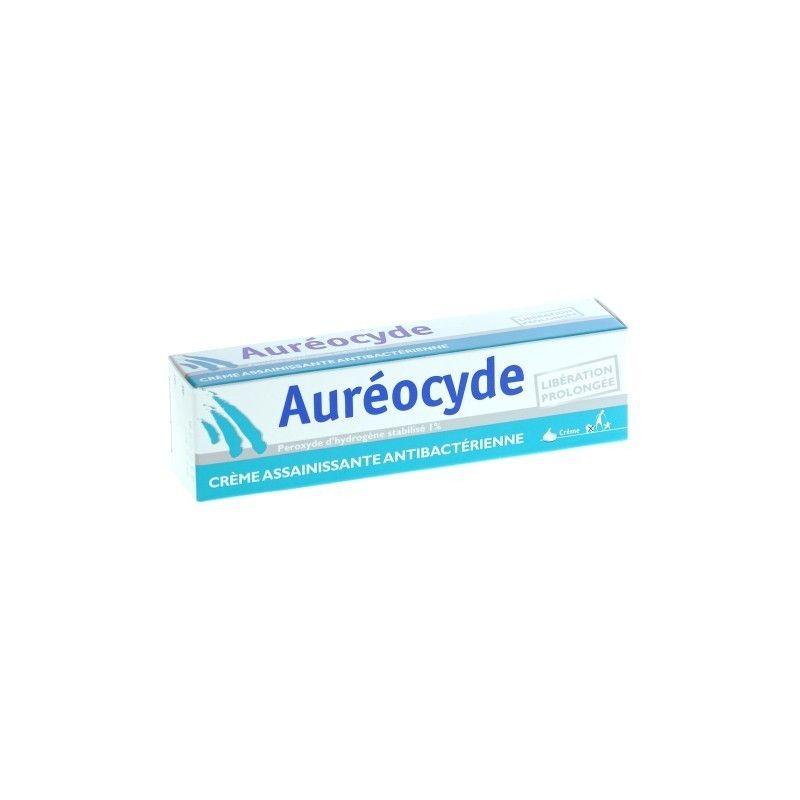 aureocyde cr me assainissant anti bact rienne tube de 15g. Black Bedroom Furniture Sets. Home Design Ideas