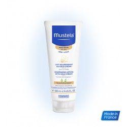MUSTELA Lait Corps au Cold Cream Nutriprotecteur Flacon de 200 ml
