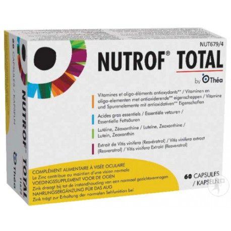 NUTROF TOTAL Caps visée oc B/60
