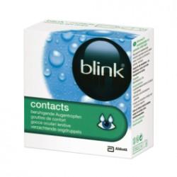 BLINKBLINK CONTACTS Gouttes de confort oculaire Boite de 20 unidoses