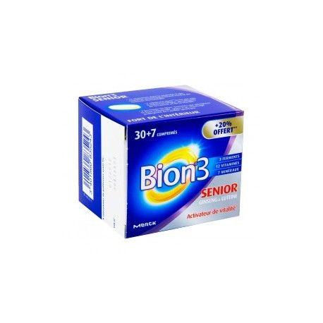BION 3 SENIOR Boite de 30 + 7 gélules offertes