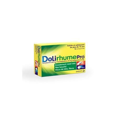 DOLIRHUMEPRO Comprimé Plaquette de 16